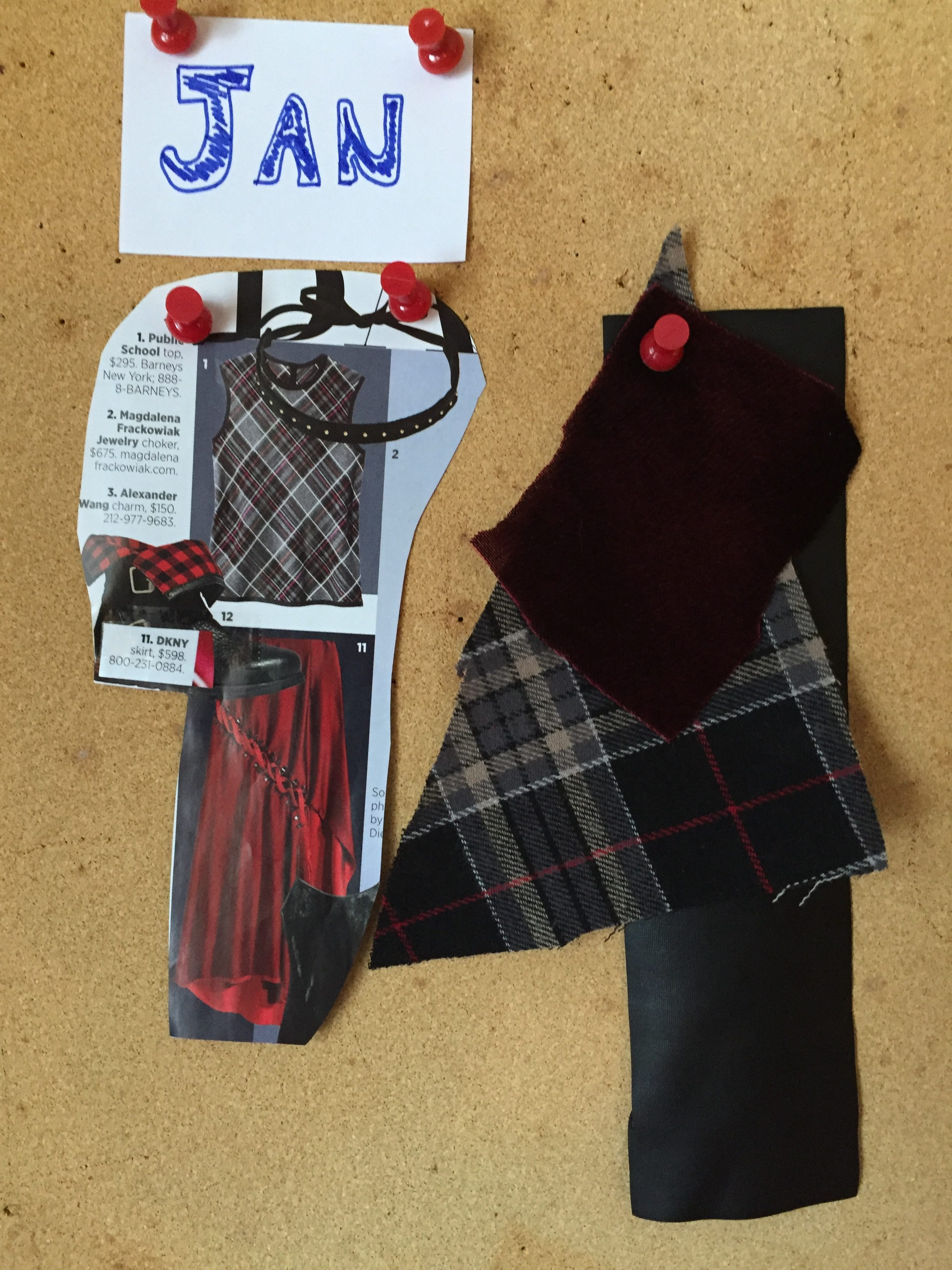 Sew What's Fabulous – Velvet, Plaid and Leather, Oh My!