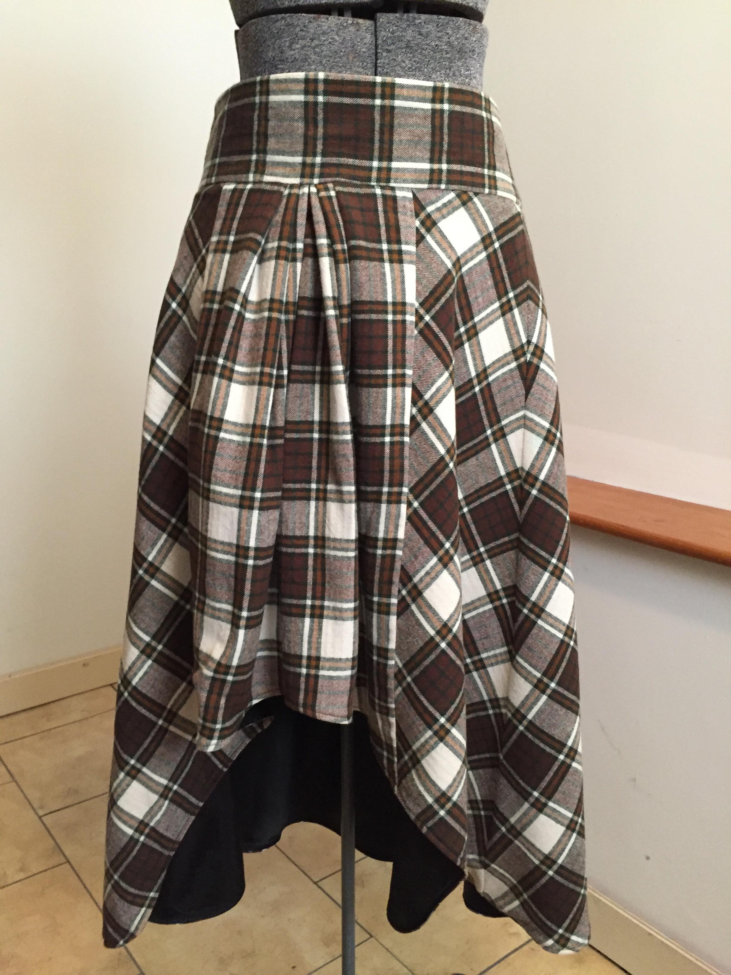 96a029c46f Alexander McQueen Tartan Skirt - Barrett's Custom Design