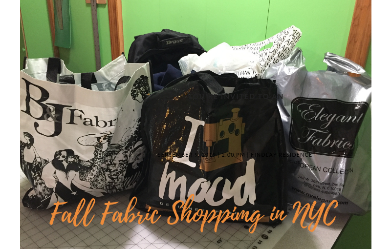 How to Navigate the NYC Fabric Stores – Turn by Turn Directions