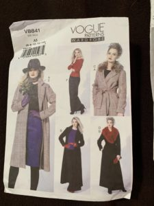 Wool Coat Recycle - Vogue pattern 8841