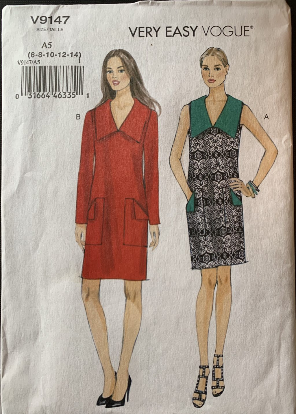 How to read the back of a sewing pattern